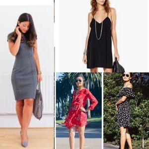 ALL STYLE DRESSES BELOW! Bundle likes for discount